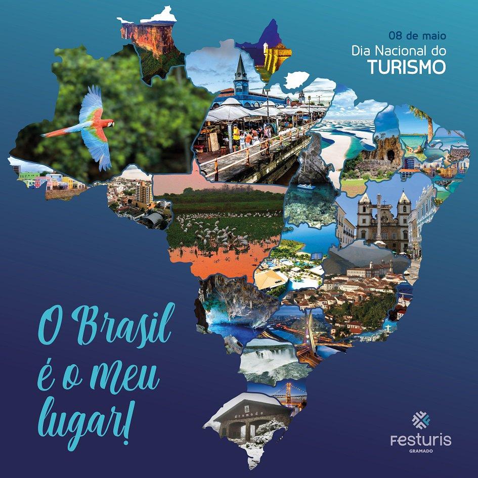 Card Dia nacional do turismo